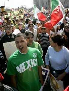 mexican protestors